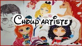 Choup'artiste - Des portraits dans plein de styles différents ♥