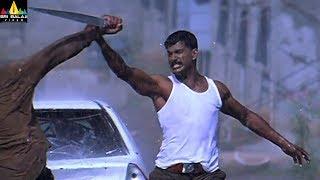 Salute Movie Scenes   Vishal Powerful Rain Fight   Telugu Movie Scenes   Sri Balaji Video
