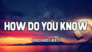"""How Do You Know"" - Emotional Rap Beat W/Hook NF Type Hip Hop Instrumental 2018 
