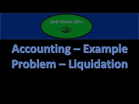 1200.50 Partnership Liquidation Assets Sold at Gain Part 1,