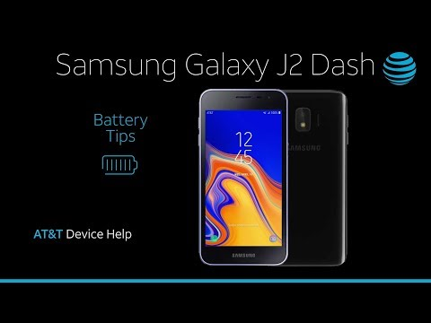 Battery Tips on your Samsung Galaxy J2 Dash | AT&T Wireless