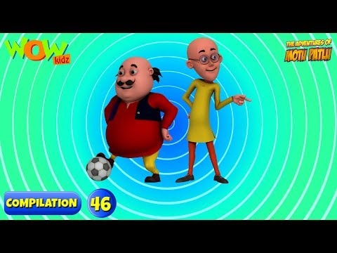 Motu Patlu - 6 episodes in 1 hour | 3D Animation for kids | #46