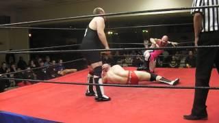 UPW Fatal 4 Way Match 1-11-2014