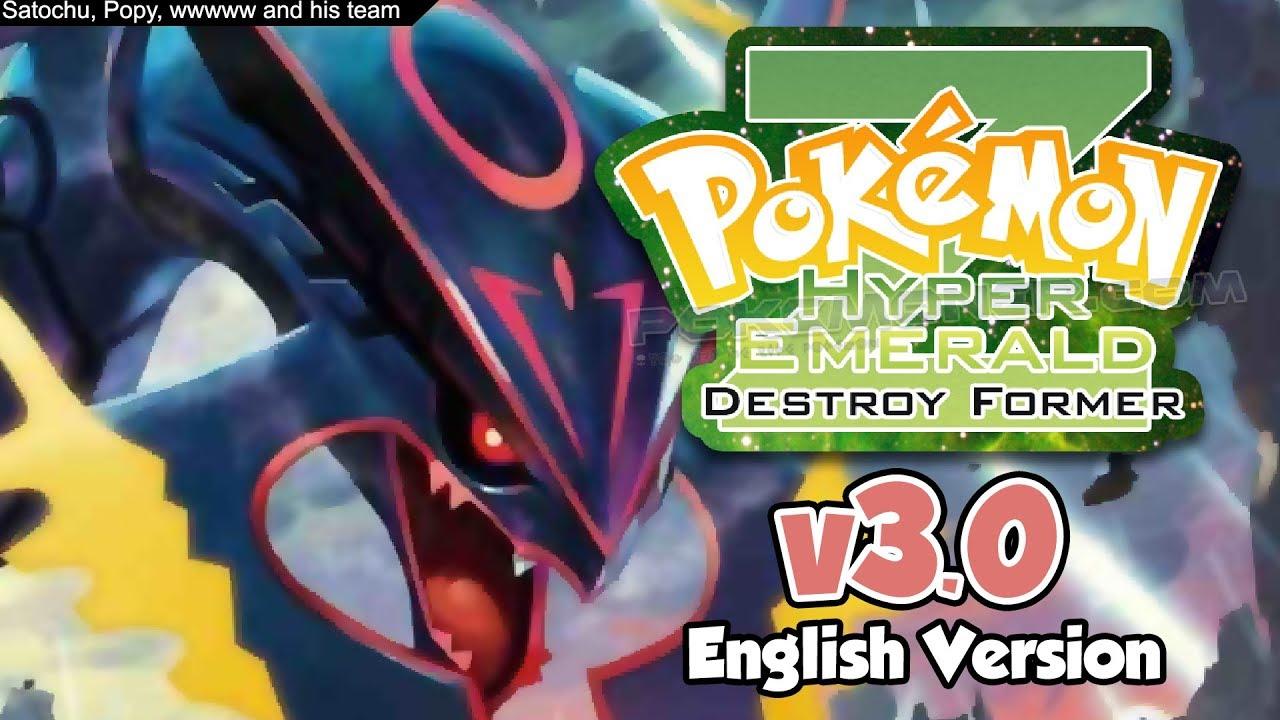 GBA] Pokemon Hyper Emerald Z 3 0a Completed - Pokemoner com