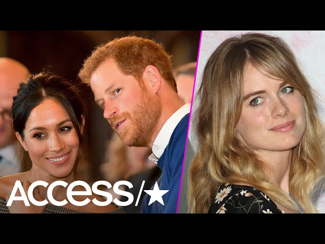Meghan Markle and Prince Harry May Awkwardly Attend His Ex Cressida Bonas' Wedding