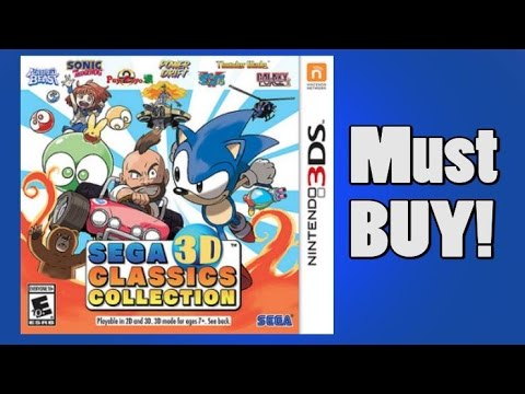 Review of the SEGA 3D Classics Collection for Nintendo 3DS by Protomario