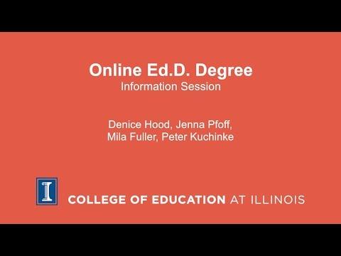 Online Ed.D. Degree Information Session