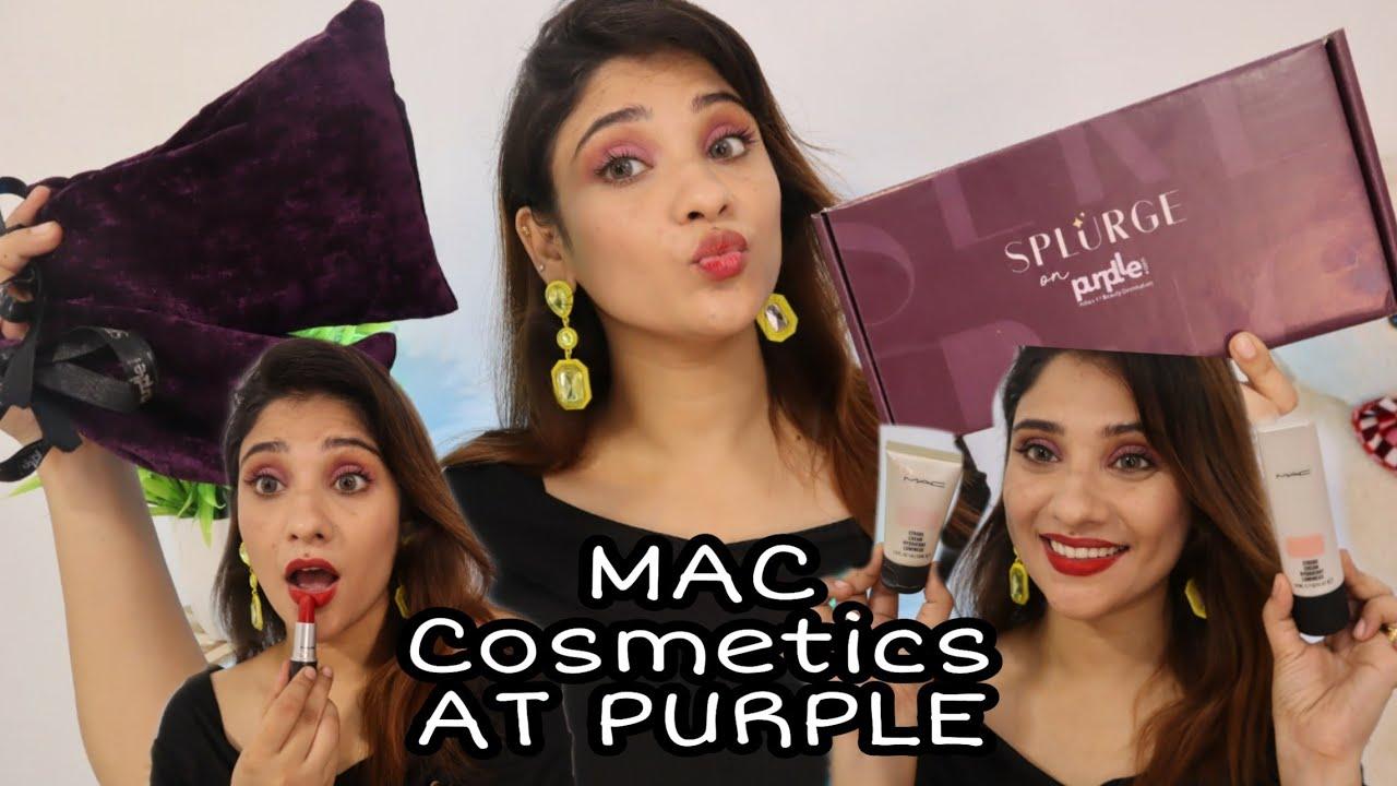 MAC COSMETIC AT PURPLLE ... || highend makeup