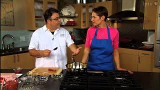 Chef Matt Steigerwald Cooks With Rhubarb