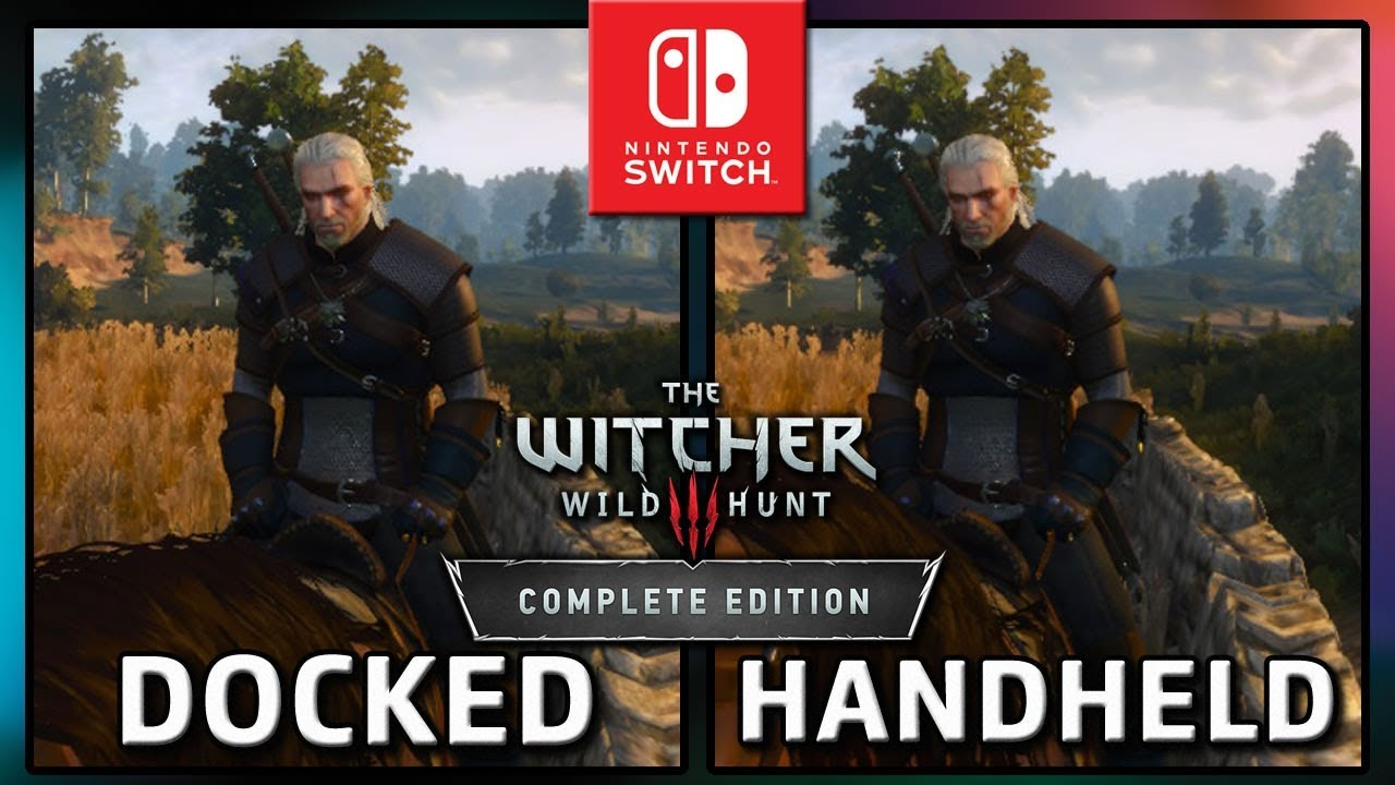 The Witcher 3: Wild Hunt | Docked VS Handheld | Frame Rate TEST on Nintendo Switch