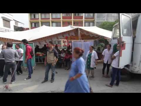 Working with health staff in Nepal post-earthquake