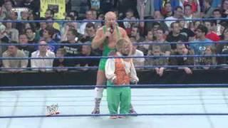 Hornswoggle & Finlay vs Natalya & Tyson Kidd