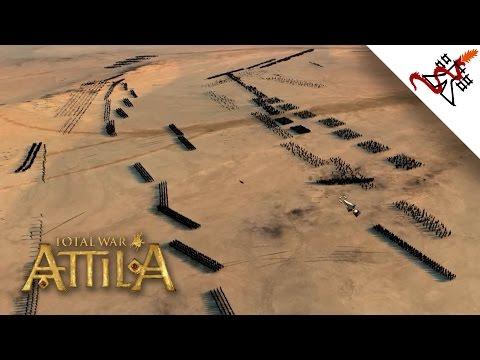 Total War: Attila - Massive Land Battle   Multiplayer Gameplay  