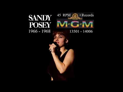Sandy Posey - MGM 45 RPM Records - 1966 - 1968