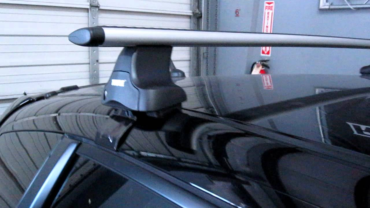 How To Fit Thule Roof Bars Specialist Car And Vehicle