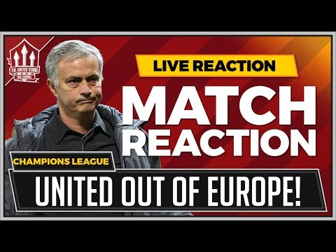 Manchester United 1-2 Sevilla, Champions League, 13.03.2018
