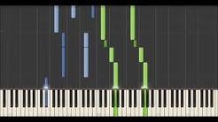 Yann Tiersen - Le Matin (Synthesia tutorial)