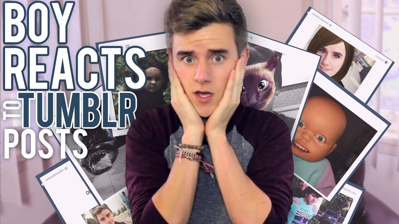 BOY REACTS TO TUMBLR POSTS - YouTubeOur2ndlife Tumblr 2013