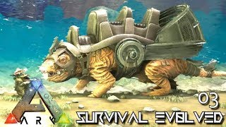 ARK: ABERRATION - NEW CREATURE ROLL RAT TAMING E03 ( GAMEPLAY ARK: SURVIVAL EVOLVED ) !!!