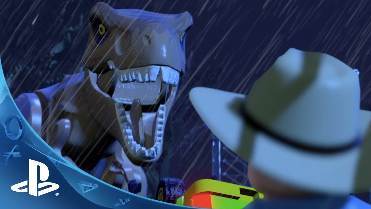 Lego Jurassic World Gameplay Reveal Trailer Ps4 Ps3 Ps Vita