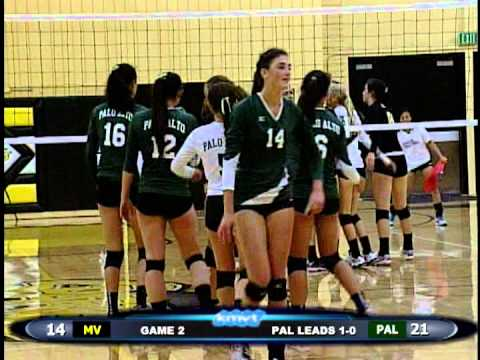 Mountain View Spartans vs Palo Alto Vikings - Volleyball
