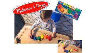 """Обзор игрушки гусеница """"Шестеренки"""" Melissa&Doug ( Melissa Doug )"""