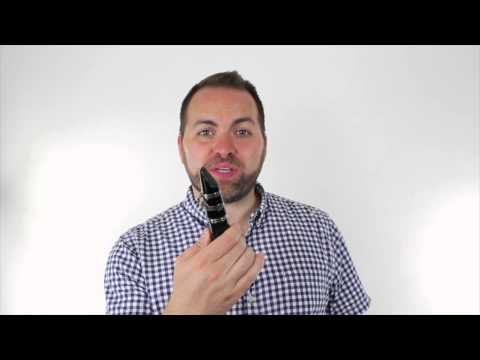 Beginner Clarinet Lesson 2.2 - How to make a sound! (embouchure, band face, and first sound)