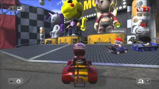 Gameplay: #ModNation Racers (PS3)