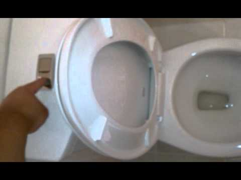 American Standard Toilet Dual Flush Youtube