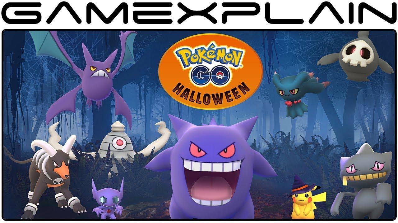 Pokémon Go - Halloween Event 2017 Announced + Gen 3 Ghost Pokémon ...