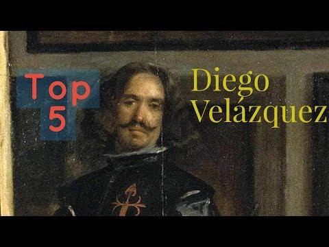 Las cinco mejores obras de Diego Velázquez