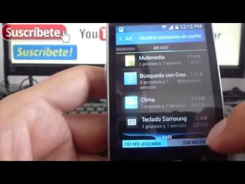 Samsung Galaxy Pocket 2 como liberar memoria interna en android español
