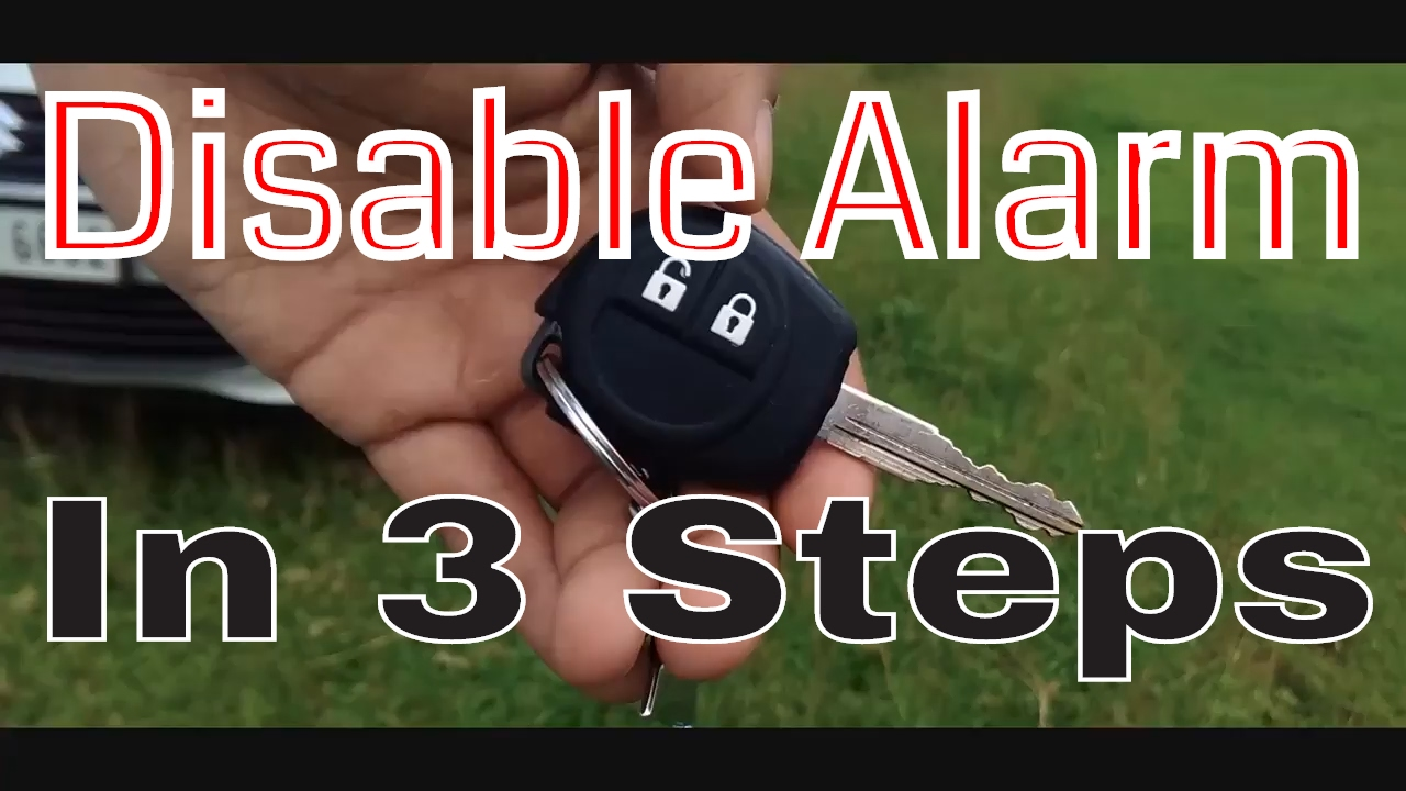 how to disable vehicle alarm immobilizer without disconnecting the wire turn off car alarm 3 steps [ 1280 x 720 Pixel ]
