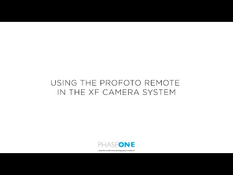 Support - Profoto Remote | Phase One