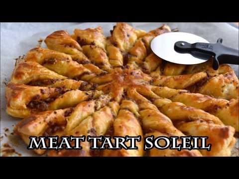 Meat Tart Soleil 【太陽のパイ】ミートタルトソレイユ【作り方】