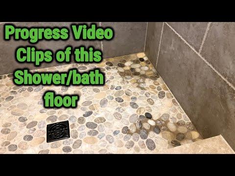 Progress Clips Of This Walk In Shower Eastbrunswick,NJ
