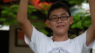 Campaña #Soy H. por la hospitalidad (acróstico infantil)