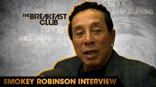 smokey robinson discusses motown playing music during segregation days and how he got his name
