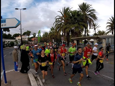 Marathon Nice Cannes 2017 passage la Salis  groupe 4h