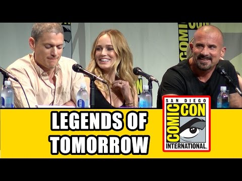 DC's Legends of Tomorrow Comic Con Panel  Caity Lotz, Wentworth Miller, Brandon Routh, Ciara Renee