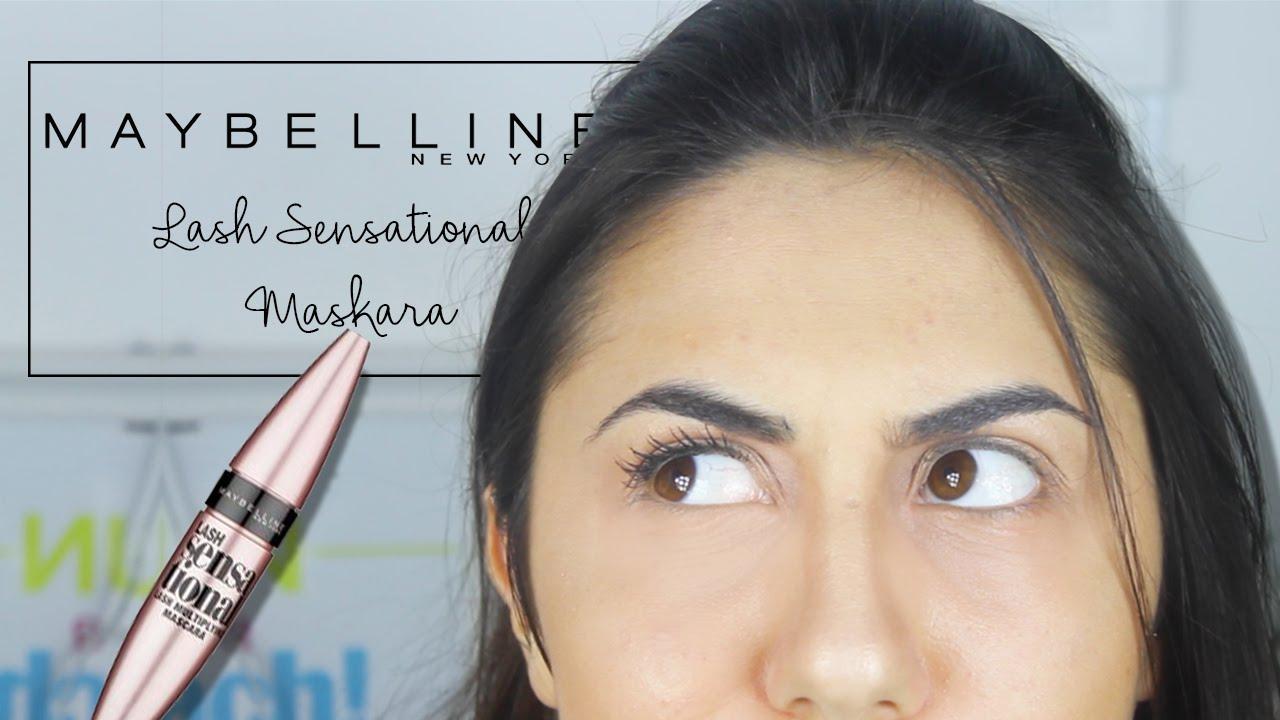 5951ee8eebd Maybelline Lash Sensational İncelemesi | 1 ÜRÜN 2 DAKİKA - YouTube