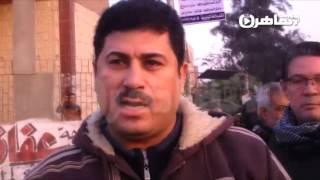 فيديو..مواطنون بعد انهيار كوبري بالخانكة: الإهمال والسرقة هما السبب