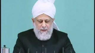 Friday Sermon: 29th October 2010 - Part 3 (Urdu)