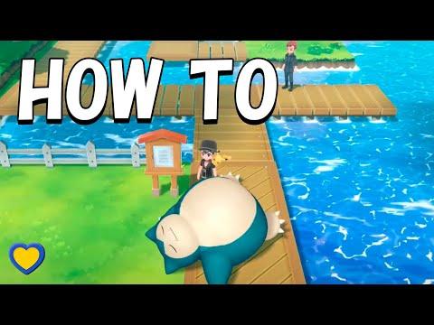HOW TO Encounter Sleeping Snorlax In Pokémon Let's Go Pikachu & Eevee