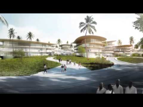 Design for tropical hospital Wanica Health Centre