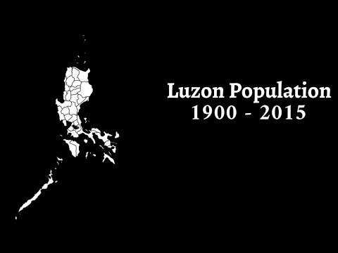 Top 20 Luzon Provinces and Independent Cities by Population (1900 - 2015)