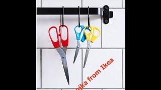 Обзор -  ножницы trojka - мои покупки икеа