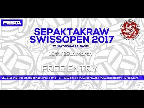 LIVESTREAM SEPAKTAKRAW SWISS OPEN 2017