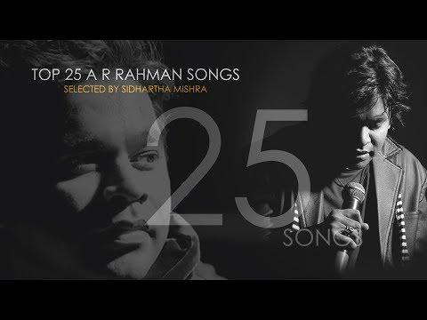 A R Rahman Best Songs  Audio | Jukebox 2018 | Sidhartha Mishra
