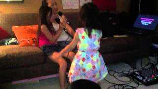 Miya and Amy Karaoke